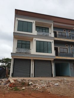 ID: 4366 - Shop house near National University of Laos in Ban Khamhoung for sale