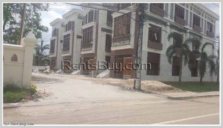 ID: 4021 - The town house near VIS in Lao and International Schools zone for sale