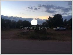 ID: 3852 - Vacant land near main road and close to Lao National Convention Hall for sale