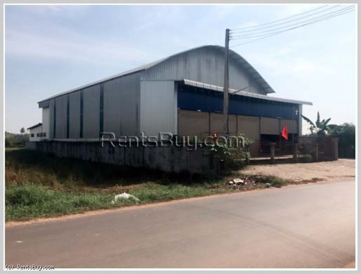 ID: 2996 - Warehouse for rent near main road